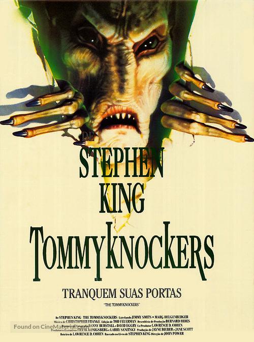 quotthe tommyknockersquot brazilian movie poster