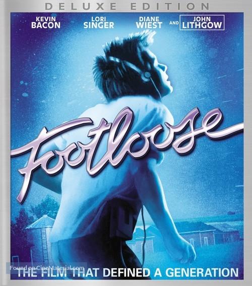 Footloose - Blu-Ray movie cover