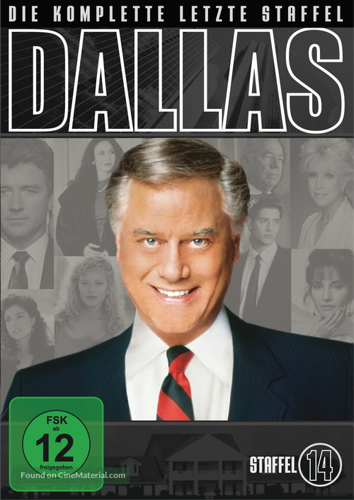 """Dallas"" - German DVD movie cover"