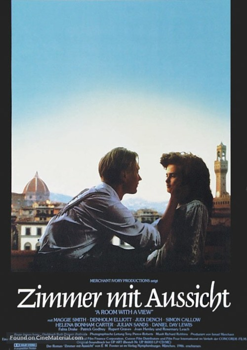 A Room with a View - German Movie Poster