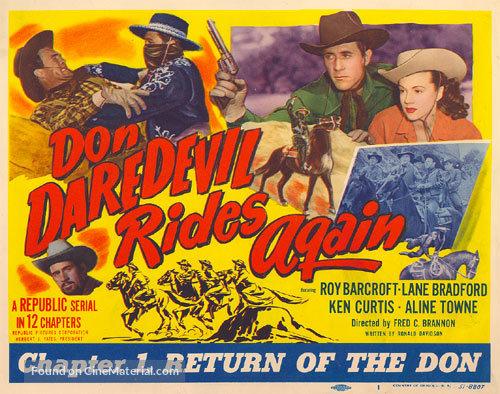 Don Daredevil Rides Again - Movie Poster
