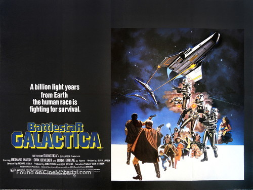 Battlestar Galactica - British Movie Poster