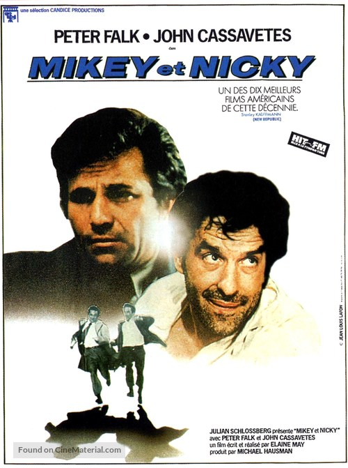 Mikey and Nicky - French Movie Poster