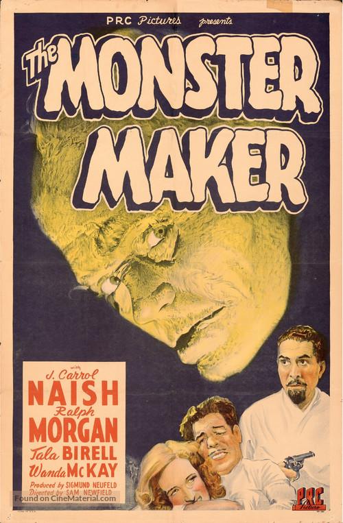 The Monster Maker - Movie Poster