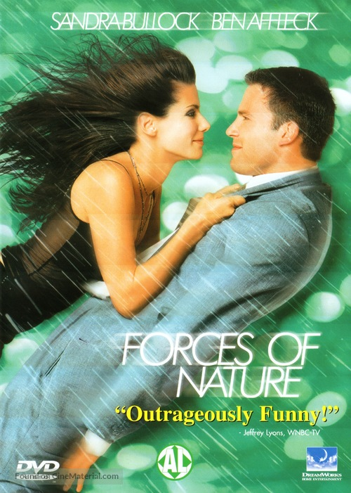 Forces Of Nature - Dutch DVD movie cover