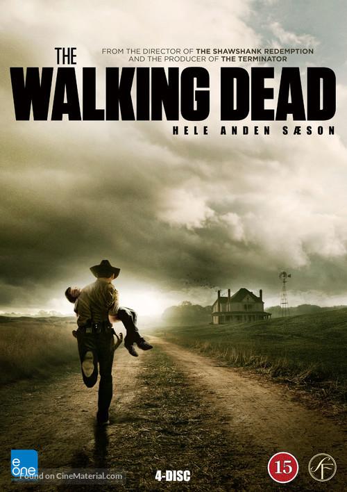 """The Walking Dead"" - Danish DVD movie cover"