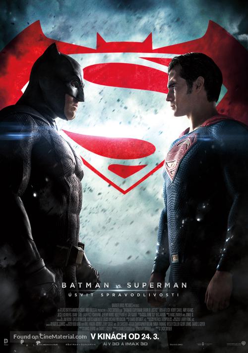 Batman v Superman: Dawn of Justice - Slovak Movie Poster