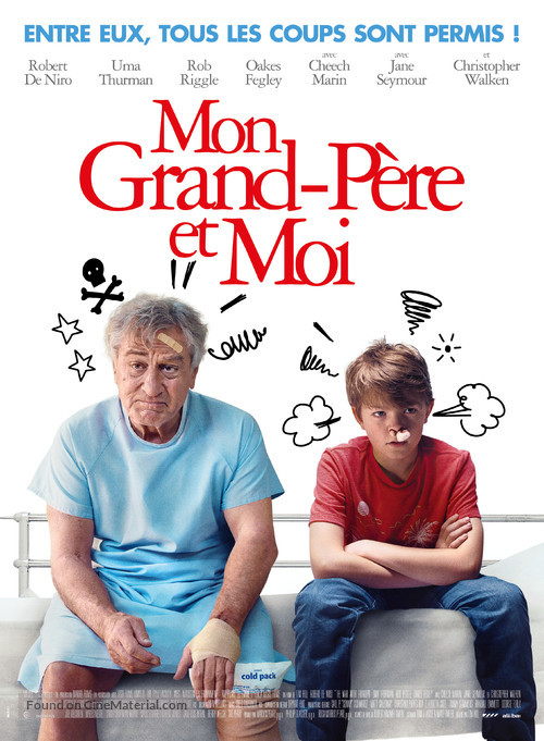 The War with Grandpa - French Movie Poster