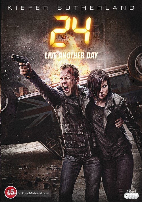 """""""24: Live Another Day"""" - Danish DVD movie cover"""