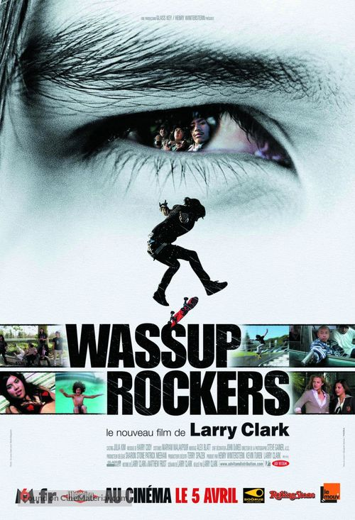 Wassup Rockers - French Movie Poster