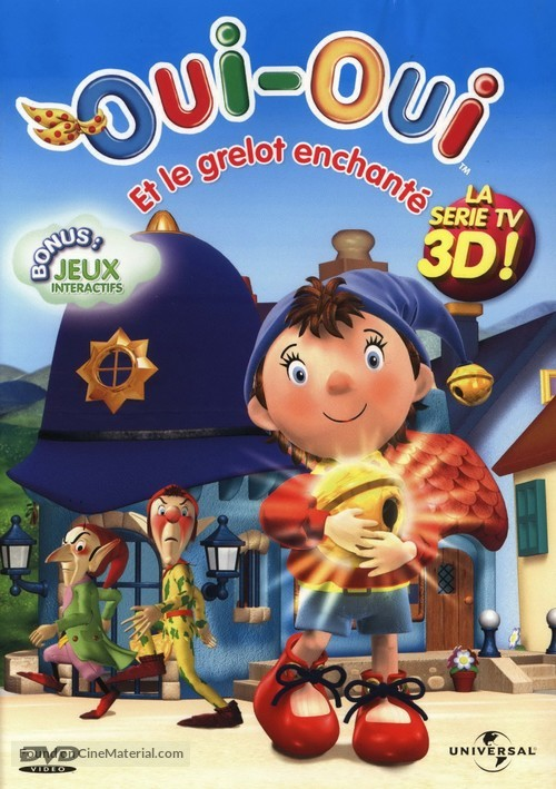 """""""Make Way for Noddy"""" - French DVD movie cover"""