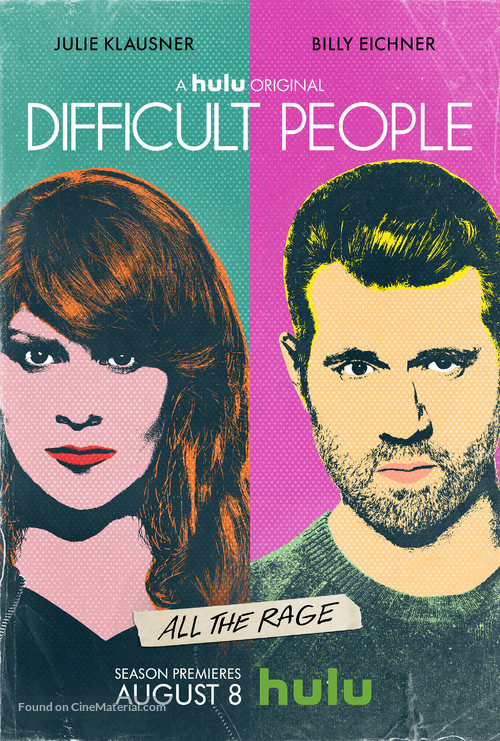"""""""Difficult People"""" - Movie Poster"""