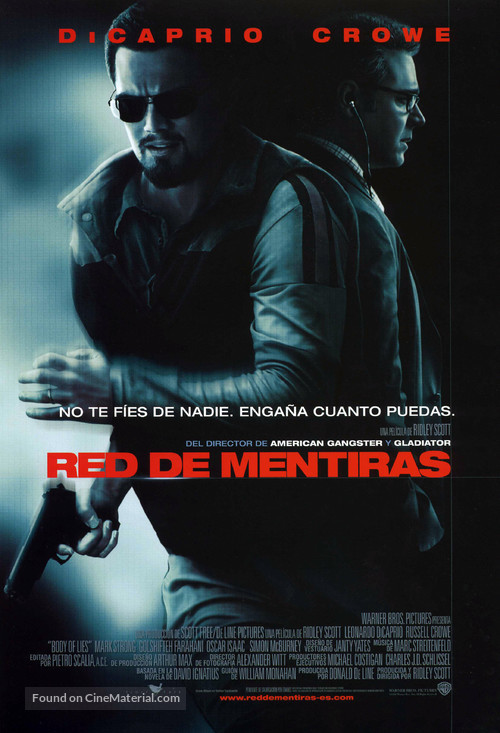 Body of Lies - Spanish Movie Poster