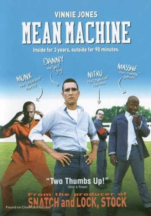 Mean Machine - DVD movie cover