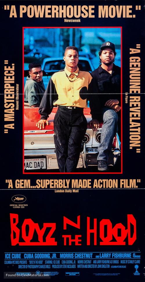 Boyz N The Hood - Australian Movie Poster