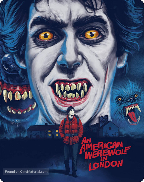 An American Werewolf in London - Movie Cover