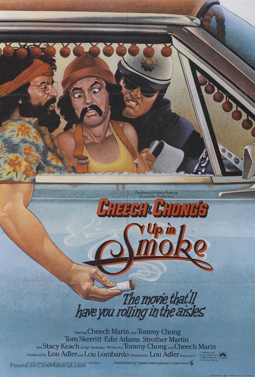 Up in Smoke - British Movie Poster