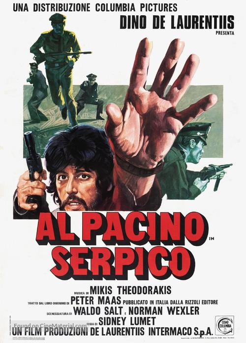 Serpico - Italian Movie Poster