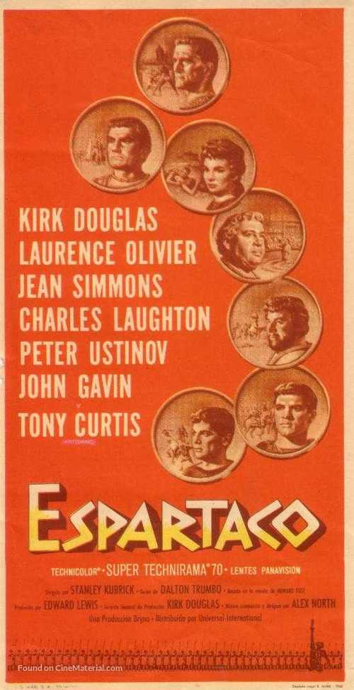Spartacus - Spanish Movie Poster