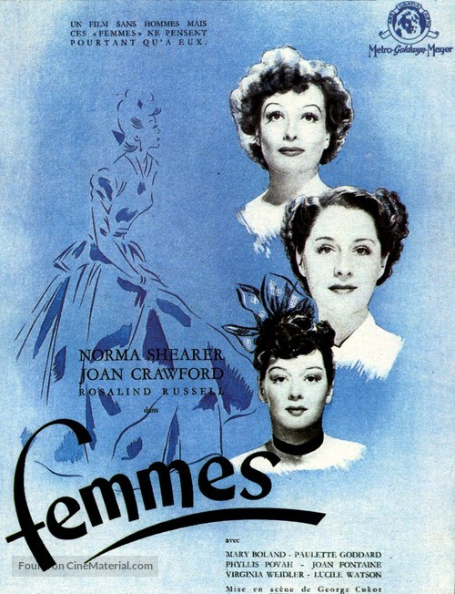 The Women - French Movie Poster