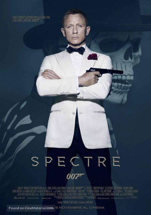 Spectre - Italian Movie Poster