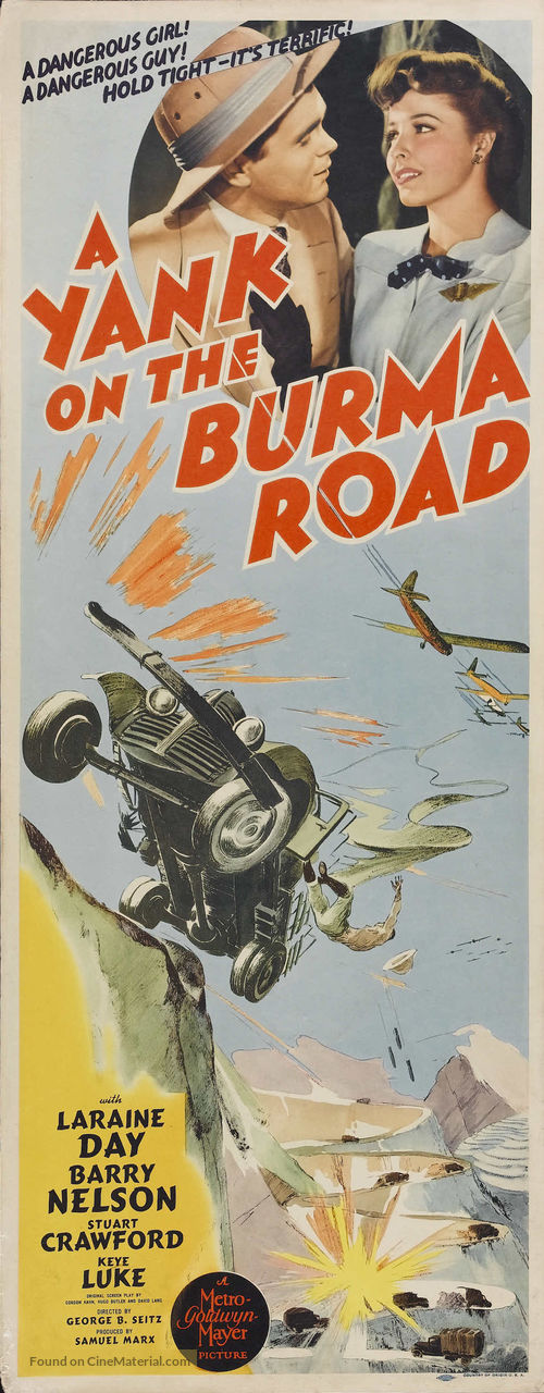 A Yank on the Burma Road - Movie Poster