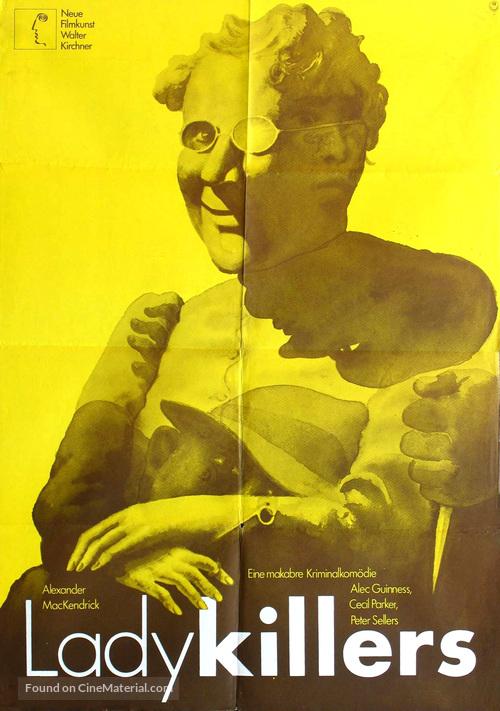 The Ladykillers - German Movie Poster