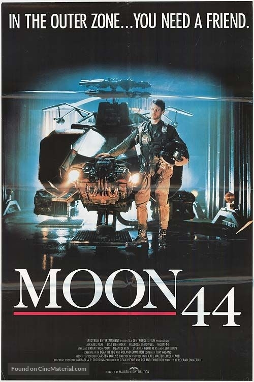 Moon 44 - Movie Poster