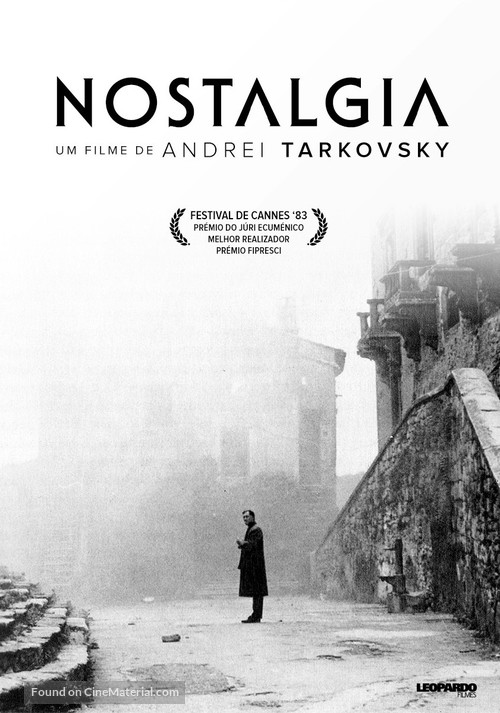 Nostalghia - Portuguese Re-release movie poster