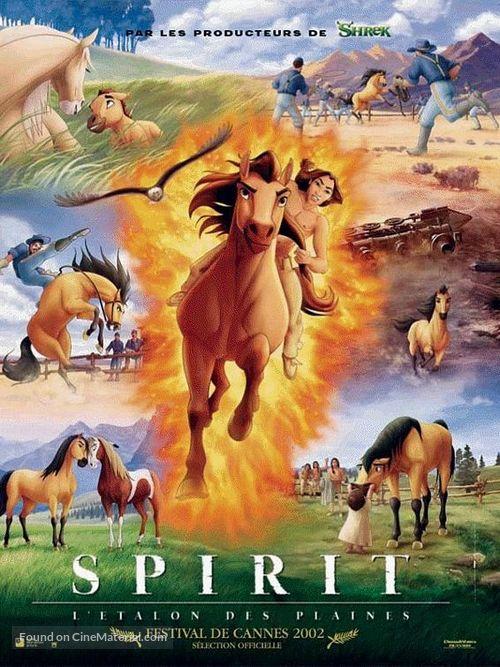 Spirit: Stallion of the Cimarron - French Movie Poster