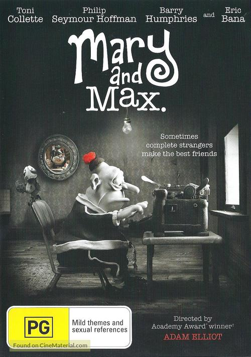 Mary And Max 2009 Australian Dvd Movie Cover