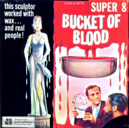 A Bucket of Blood - German Movie Cover