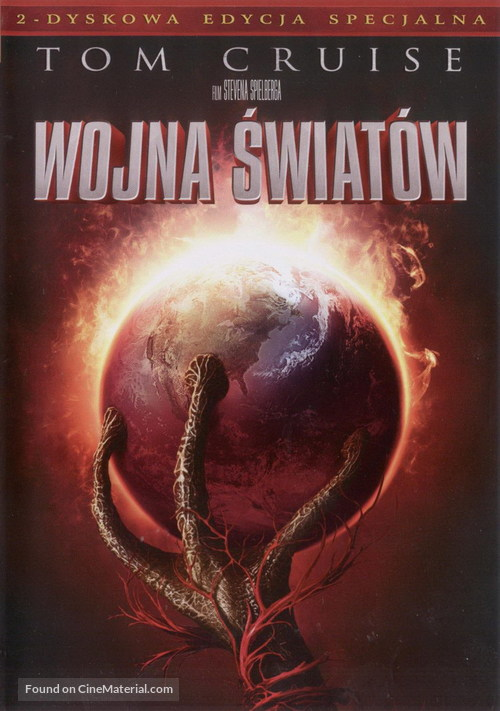 War of the Worlds - Polish DVD movie cover
