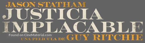 Wrath of Man - Mexican Logo