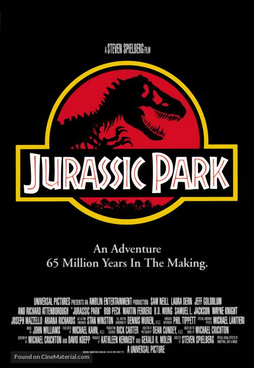 Jurassic Park - Movie Poster