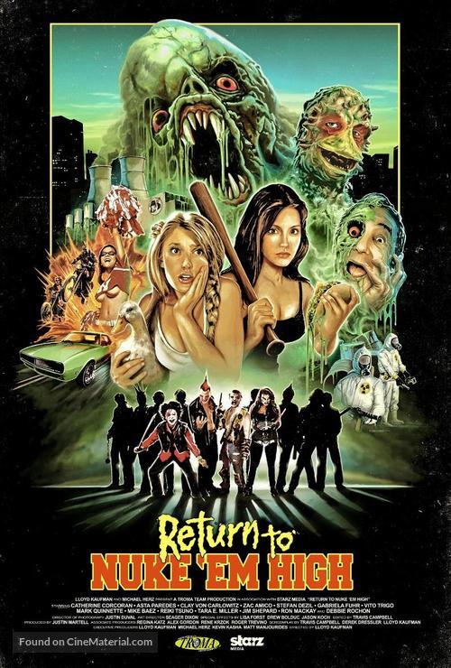 Return to Nuke 'Em High Volume 1 - Movie Poster