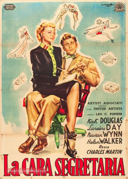 My Dear Secretary - Italian Movie Poster
