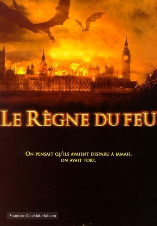 Reign of Fire - French Movie Poster