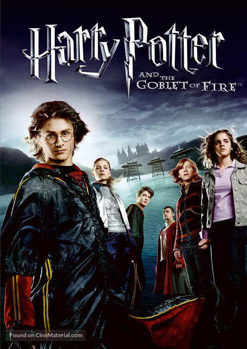 Harry Potter and the Goblet of Fire - Movie Cover