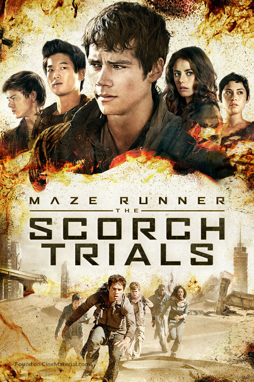Maze Runner: The Scorch Trials - Movie Cover