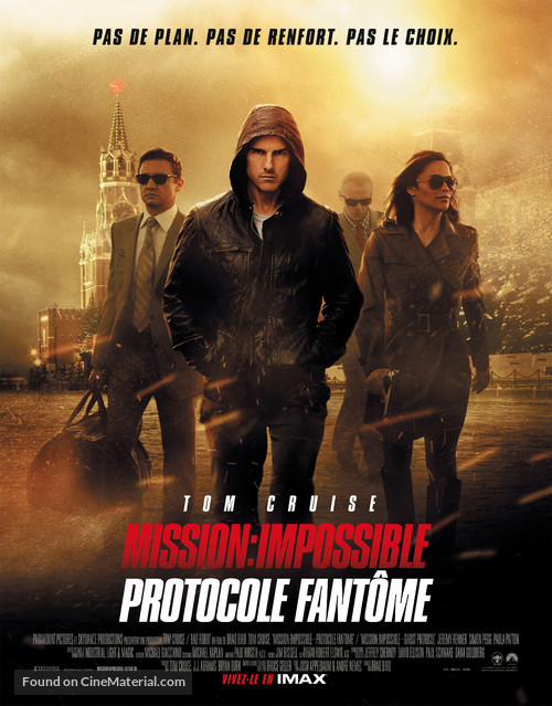 Mission: Impossible - Ghost Protocol - French Movie Poster