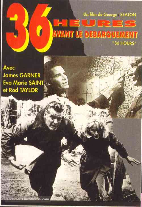 36 Hours - French Movie Poster
