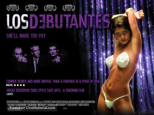 Los debutantes - British Movie Poster