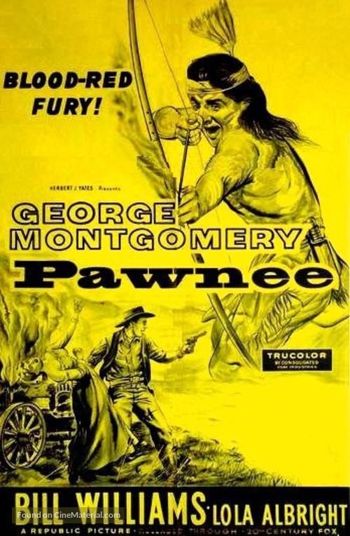 Pawnee - Australian Movie Poster