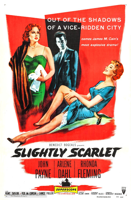 Slightly Scarlet - Movie Poster