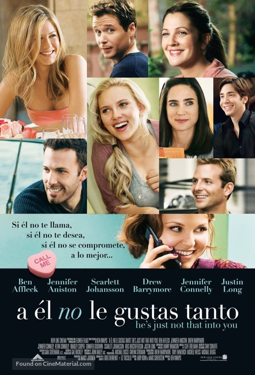 He's Just Not That Into You - Mexican Movie Poster