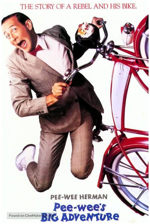 Pee-wee's Big Adventure - Movie Cover