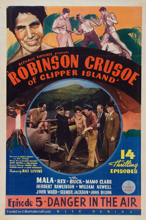Robinson Crusoe of Clipper Island - Movie Poster