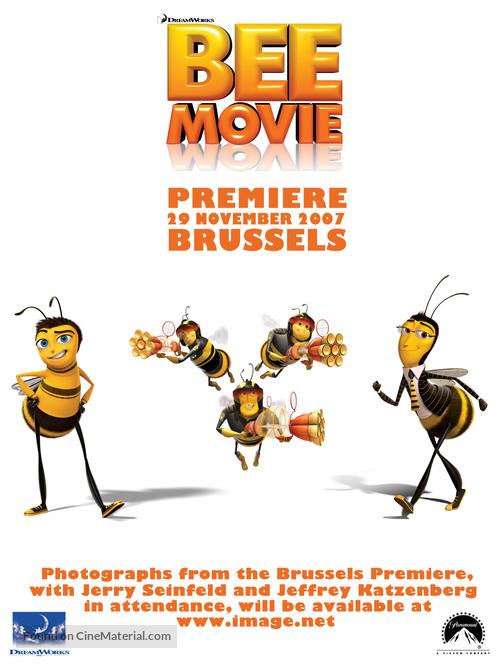 Bee Movie 2007 Belgian Movie Poster