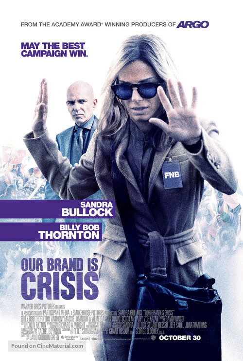 Our Brand Is Crisis - Movie Poster